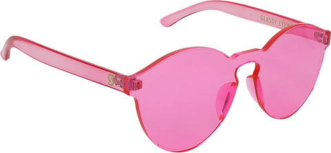 GLASSY SUNHATERS MOLLIE PINK SUNGLASSES