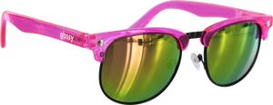 GLASSY MORRISON CANCER HATER PINK SUNGLASSES