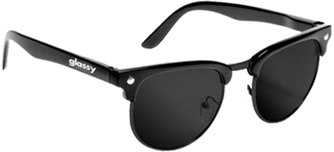 GLASSY SUNHATERS MORRISON MATTE BLK