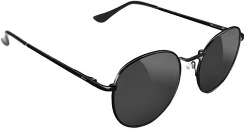 GLASSY SUNHATERS RIDLEY BLK/BLK SUNGLASSES