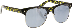GLASSY SHREDDER OLIVE TORT/BLK SUNGLASSES