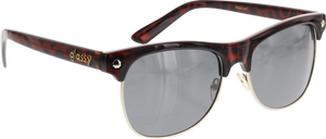 GLASSY SUNHATERS SHREDDER POLARIZED COFFEE TORT SUNGLASSES