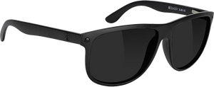 GLASSY SUNHATERS COLE POLARIZED MATTE BLACK SUNGLASSES
