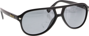 GLASSY HASLAM BLACK SUNGLASSES polarized