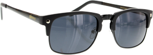 GLASSY SUNHATERS P-ROD MATTE BLK SUNGLASSES polarized