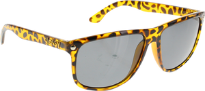 GLASSY MIKEY TAYLOR TORTOISE SUNGLASSES polarized