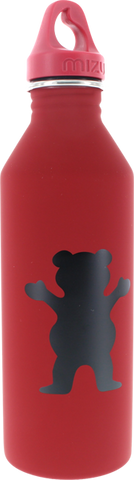 GRIZZLY GRIPTAPE MIZU OG BEAR WATER CANTEEN RED/BLK