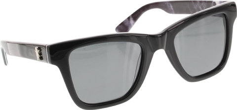 GRIZZLY NEW WAVE SUNGLASSES BLK/WHT