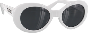 HAPPY HOUR BEACH PARTY SUNGLASSES WHITE