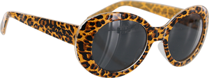 HAPPY HOUR BEACH PARTY SUNGLASSES LEOPARD