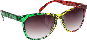 HAPPY HOUR PUDWILL HIGH TIMES RASTA SUNGLASSES