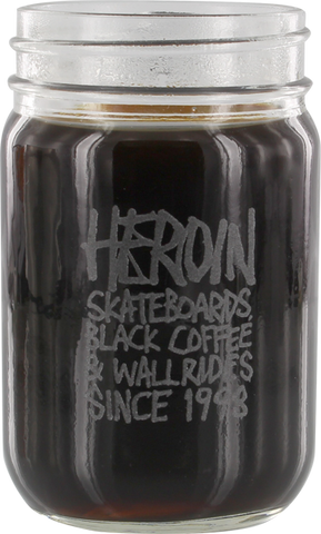 HERION SINCE 98 MASON JAR