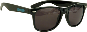KROOKED EYES SUNGLASSES BLK/BLUE