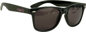 KROOKED EYES SUNGLASSES BLK/RED