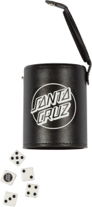SANTA CRUZ SHOOTER DICE SET BLACK