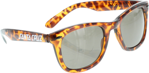 SANTA CRUZ STRIP SHADES WAYFARER SUNGLASSES BRN TORTOISE
