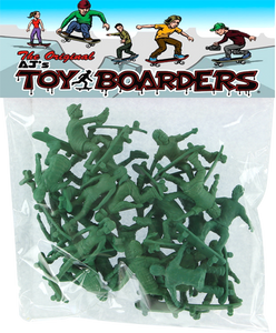 TOY BOARDERS SERIES II 24pc SKATE FIGURES