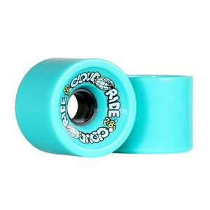 Cloud Ride Wheels Teal Cruiser Wheels 78a 69mm