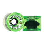 Cloud Ride Wheels Clear Green Cruiser Wheels 78A 69MM