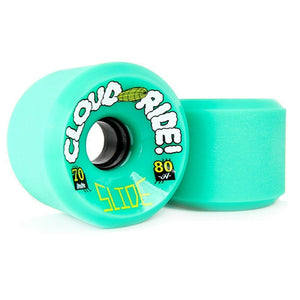 Cloud Ride Wheels Slide 70mm 80a