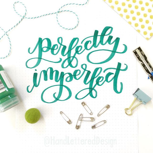 3 Things to avoid in your Hand Lettering…