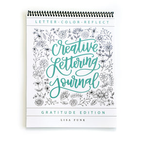 Creative Lettering Journal - Top Spiral Binding