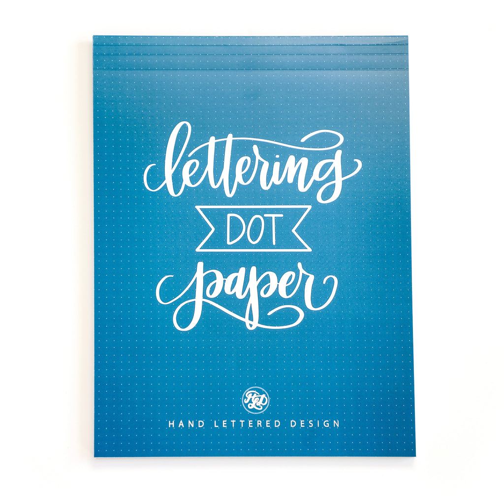 Lettering Dot Paper Pad