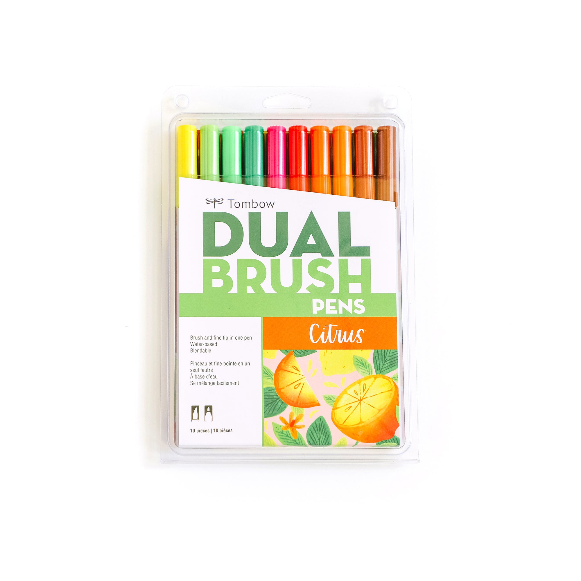 Citrus - Dual Brush Pens