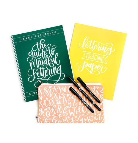 Guide to Mindful Lettering Bundle