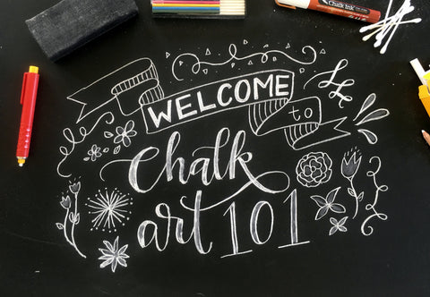 Chalk Art 101 Online Course