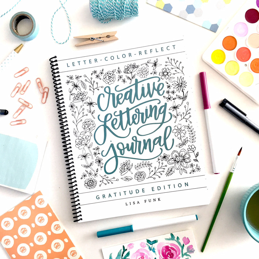 creative lettering journal hand lettered design llc