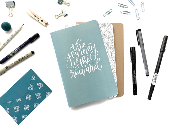 Mixed Set of 3 Perfect Lettering Notebooks