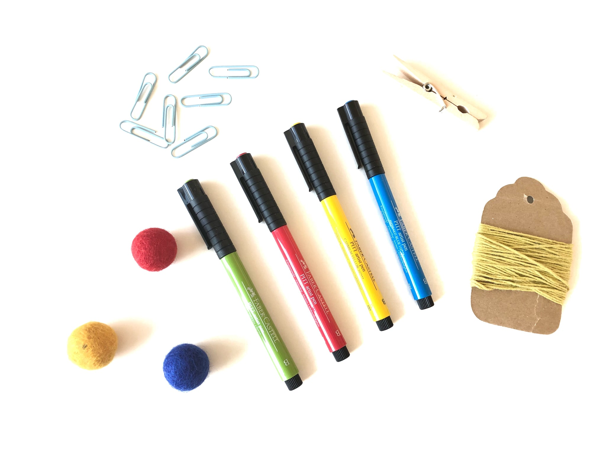 Pitt Artist Brush Pens - Primary Colors Set