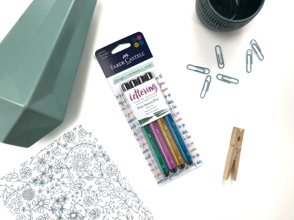 Pitt Artist Brush Pens - Jewel Set