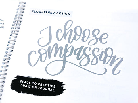Daily Mindful Lettering Book