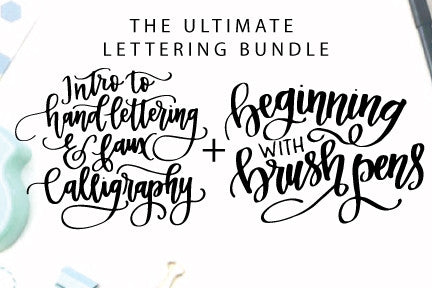 Ultimate Lettering Bundle Online Course