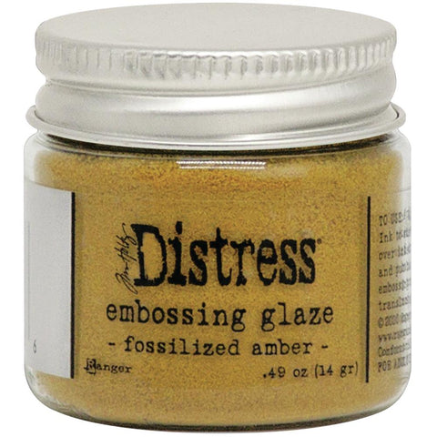 Tim Holtz- Distress Embossing Glaze - Fossilized Amber