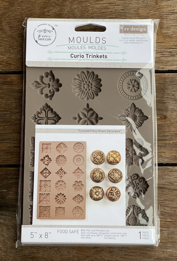 Prima Re Design Mould - Curio Trinkets