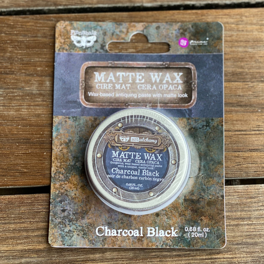 Prima Art Alchemy - Matte Wax - Charcoal Black