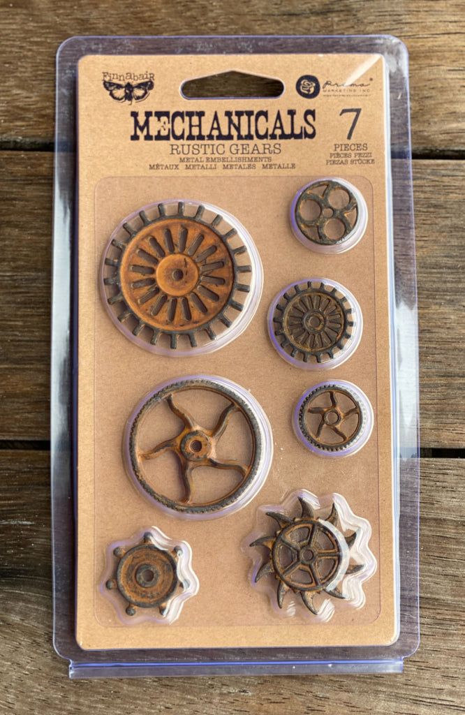 Prima Mechanicals - Rustic Gears