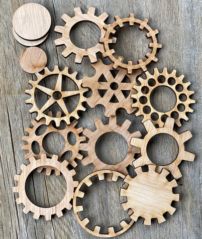 Cogs and Gears - Large Plywood