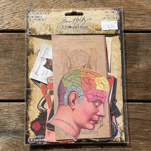 Tim Holtz - Ephemera Pack - Halloween