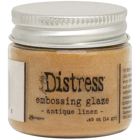 Tim Holtz- Distress Embossing Glaze- Antique Linen