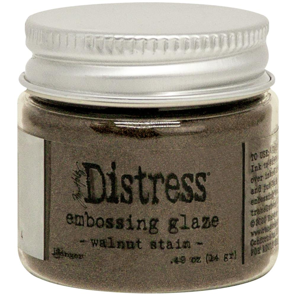 Tim Holtz- Distress Embossing Glaze - Walnut Stain