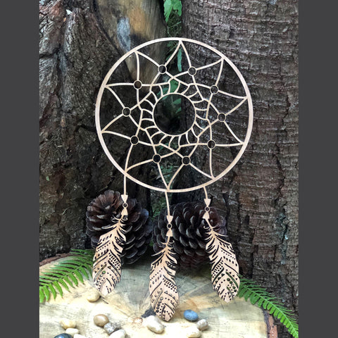 Dream Catcher fixed Feathers