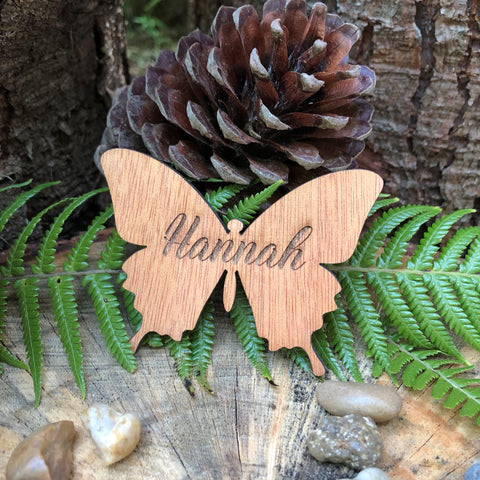 Wooden Butterfly Place Name