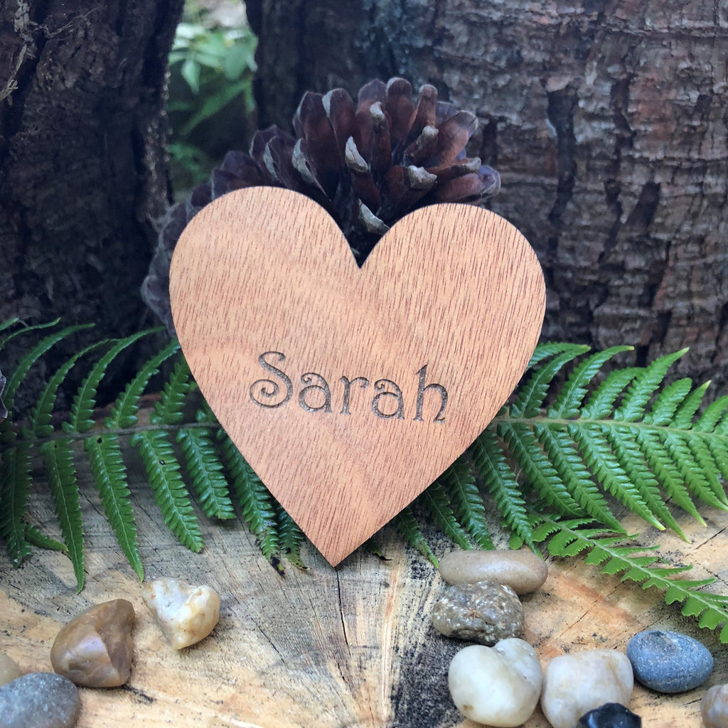 Wooden Heart Place Name