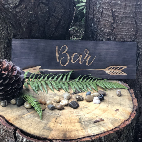 Stained Bar Sign - Small