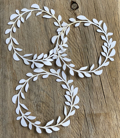 3 pack Card Stock Wreath