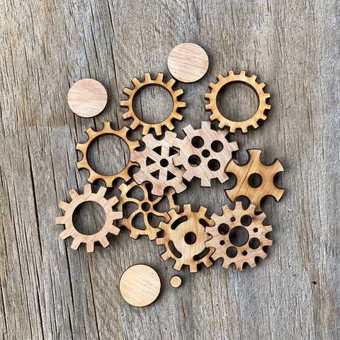 Cogs and Gears - Small Plywood